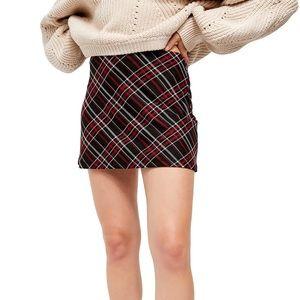 Free People Kensington Skater Mini Skirt
